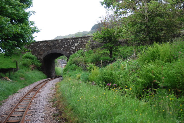 Railway bridge near Muncaster Mill Station