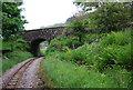 SD0997 : Railway bridge near Muncaster Mill Station by N Chadwick