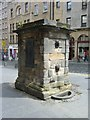 NT2673 : Netherbow Well, Royal Mile by kim traynor