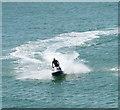 TQ3103 : Jet ski near Palace Pier, Brighton by David Hawgood