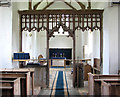 TG3800 : St Margaret's church - rood screen by Evelyn Simak
