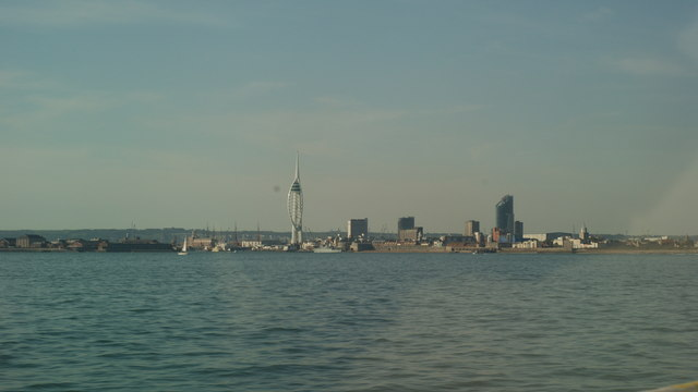 View Towards Portsmouth