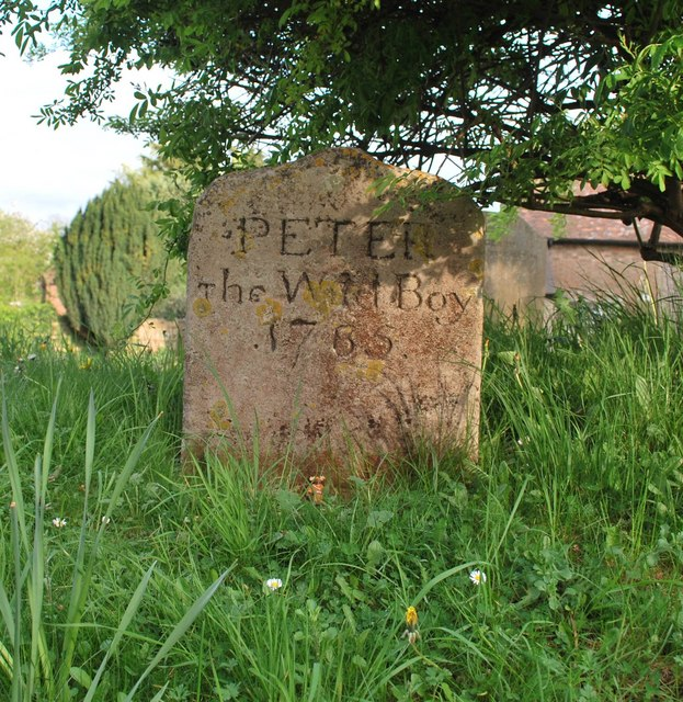 Grave of Peter the Wild Boy