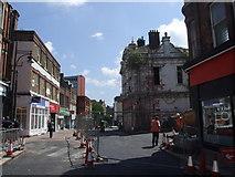 TQ7567 : Chatham High Street by Chris Whippet