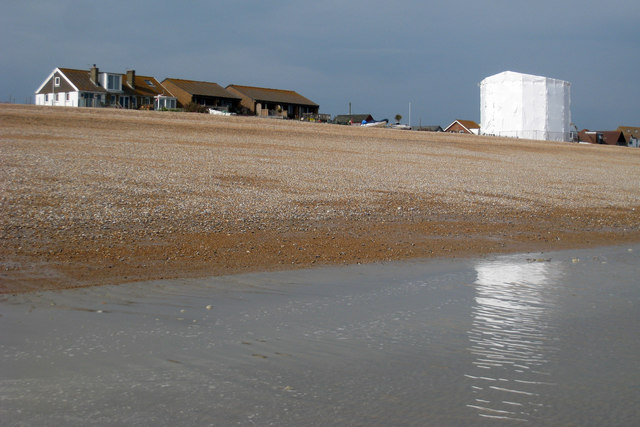 Martello Tower number 55, Norman's Bay; Under Wraps