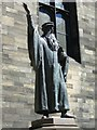 NT2573 : John Knox statue, New College by kim traynor