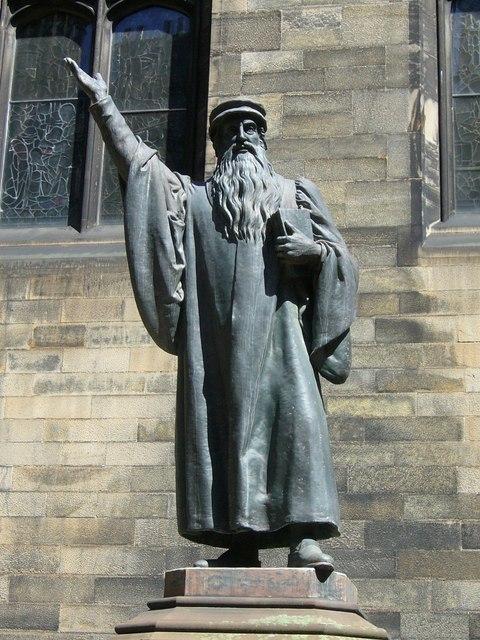 John Knox statue, New College