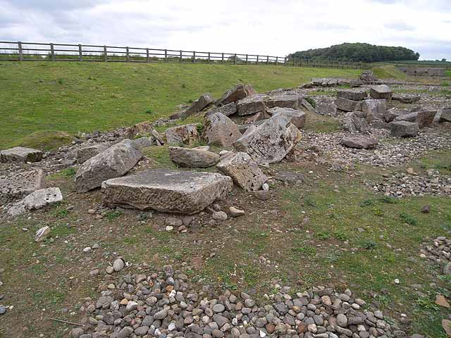 Remains of Roman Bridge, Piercebridge