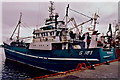 G7276 : Killybegs - Fishing ships docked in harbour by Joseph Mischyshyn