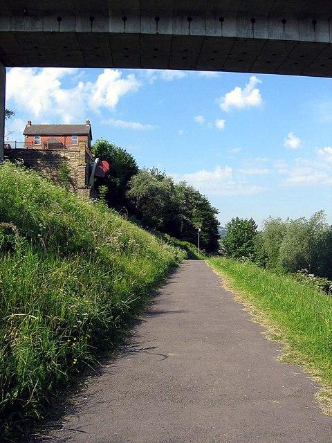 Footpath through Sculpture Park