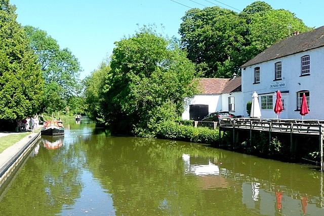 Canal east of Kintbury