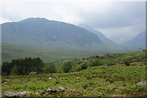 SH6959 : Gallt yr Ogof with Tryfan beyond by Ian Greig