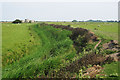 TQ9118 : Drainage Ditch near Camber Castle by Oast House Archive