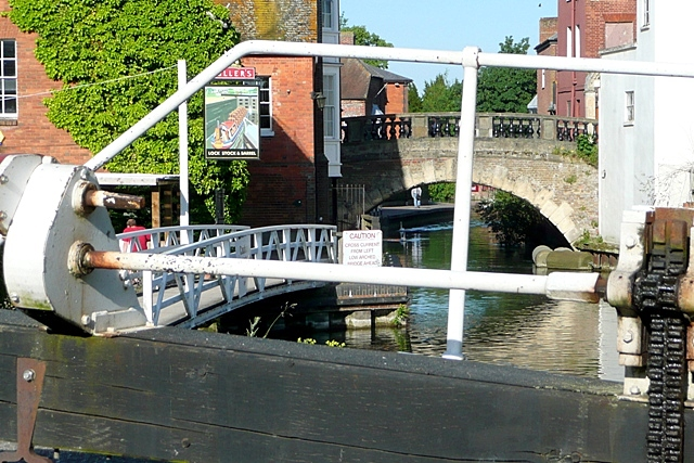 Below Newbury Lock