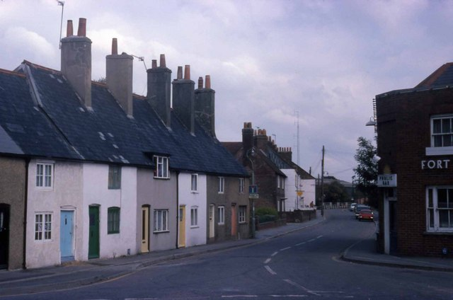 Looking towards North Wallington (1975)