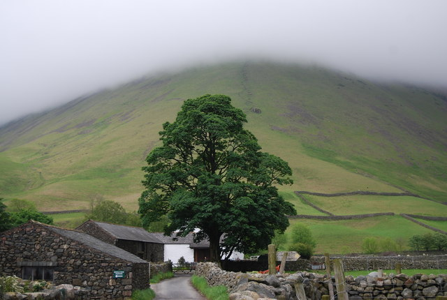View towards Kirk Fell from Wasdale Head