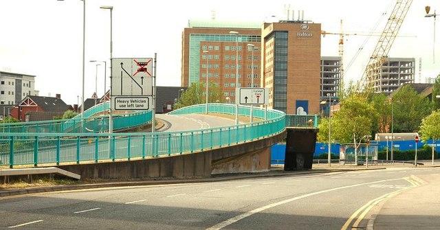The Station Street/Bridge End flyover, Belfast (4)