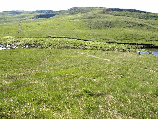 Stream between Loch Righ Mor and Loch Righ Meadhonach
