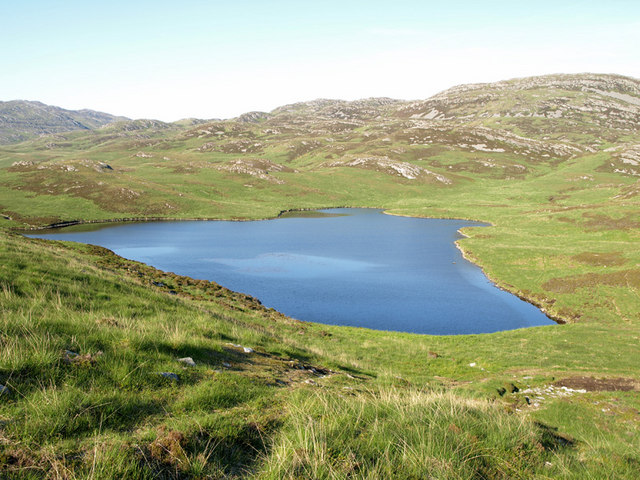 Unnamed Loch at NR545843