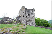 SK1482 : Peveril Castle Keep by Martin