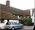 SU8099 : Rear of Grange Farmhouse, Hearing Dogs, Saunderton by Chris Reynolds