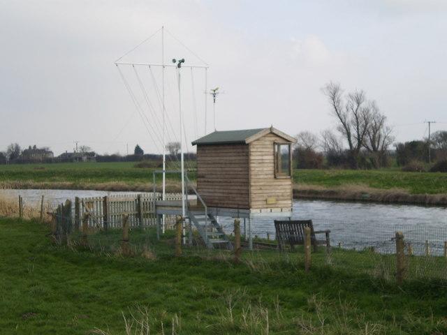 Marshal hut beside the Cam