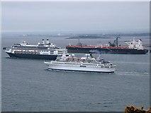 NT1580 : Hound Point tanker terminal by Simon Johnston