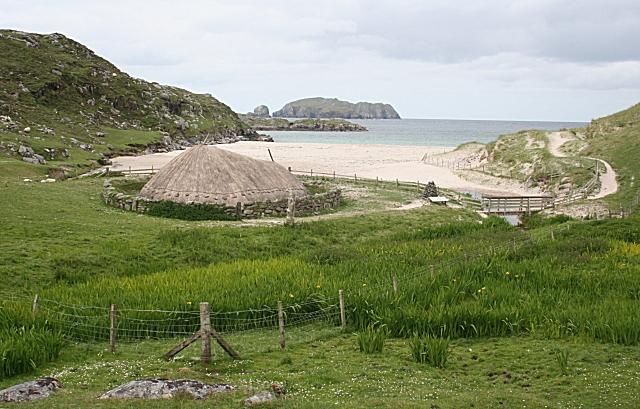 Iron Age House at Camas Bostadh