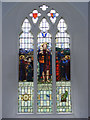 TM1659 : Window of St Catherine's Church, Pettaugh by Adrian Cable