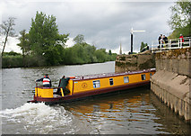 SO8453 : Entering the Worcester and Birmingham Canal by Pierre Terre