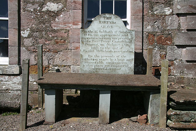 The martyr's grave at Durisdeer Church