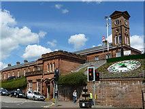 NS4238 : Kilmarnock Railway Station by C L T Smith