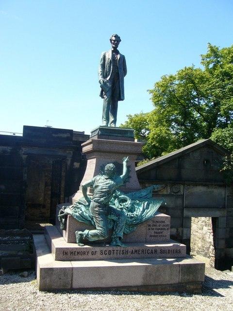 Scottish-American Soldiers Memorial, Old Calton Burying Ground