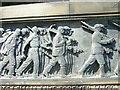 NT2573 : Scottish-American War Memorial detail by kim traynor