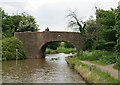 SO8557 : Bridge 16, Worcester and Birmingham Canal by Pierre Terre