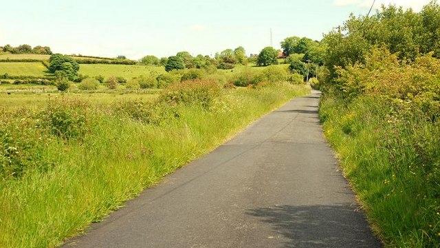 The Drumnaconnel Road near Saintfield (2)