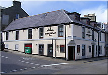 NJ2371 : The Steamboat Inn at Lossiemouth by Ann Harrison