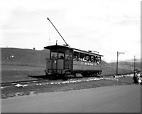 SH7683 : Great Orme Railway, Upper section by Dr Neil Clifton