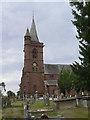SJ4159 : Aldford, the churchyard by Alan Murray-Rust