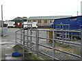 SJ5559 : Beeston Castle Cattle Market by Alan Murray-Rust