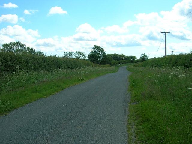 Minor Road Towards Hutton Cranswick