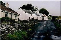 G6333 : Knocknaree - Houses near car park & path to summit by Joseph Mischyshyn