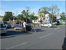 SH5638 : Tesco Car park by Nigel Mykura