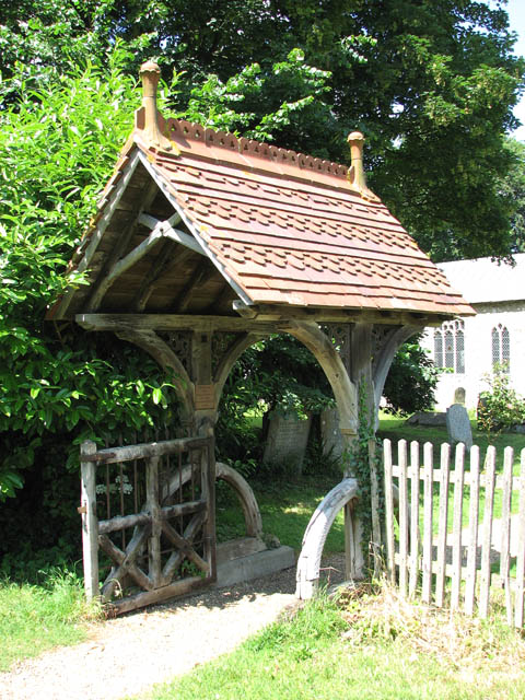 St Mary's church - lych gate