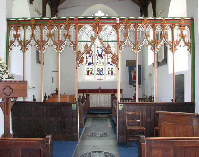 St Mary's church - rood screen