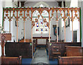 TG1902 : St Mary's church - rood screen by Evelyn Simak