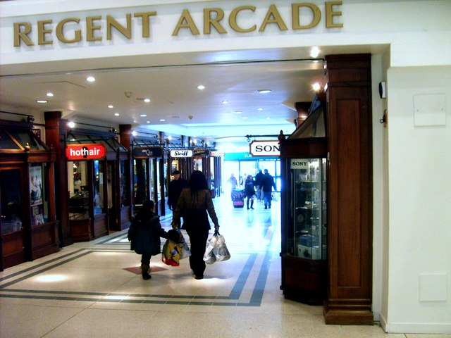 a93b651e79f taken 10 years ago, near to Bromley, Great Britain. Regent Arcade. Regent  Arcade. The Bromley Arcade off the Glades Shopping Centre. Creative Commons  ...