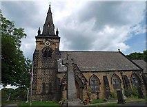 SE4111 : War memorial and St. Paul's Church Brierley by Steve  Fareham
