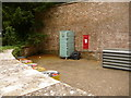 SY7191 : Kingston Maurward: postbox № DT2 79 by Chris Downer