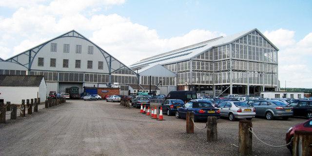 Shipyard Buildings at Chatham Dockyard